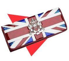 Union Jack Clutch Bag