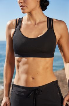 98bfb078de CALIA by Carrie Underwood Women s Inner Power Tri-Strap Sports Bra