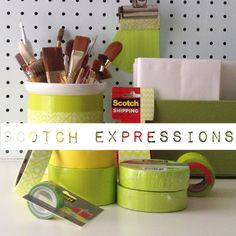View the list of our Easy Craft Projects and DIY Ideas. Get instructions on How To Make A Succulent Garden, Packing Hacks and Easy Kitchen Hacks plus more! Easy Craft Projects, Easy Crafts, Easy Diy, Projects To Try, Scotch Tape, Love Craft, Packing Tips, Washi Tape, Adhesive