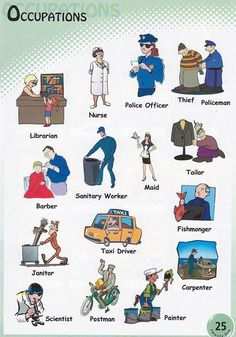 Forum | Learn English | Occupations Vocabulary | Fluent Land