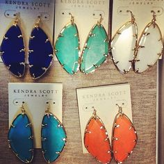 Kendra Scott Spring 2013 Willow Earrings. #KendraScott