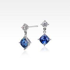 Sapphire Earrings   Blue Nile