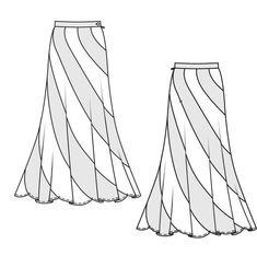 Burda 2013/10 [133] - Un classique non-conformiste avec son alternance de panneaux contrastants et sa longueur surdimensionnée. T34-44