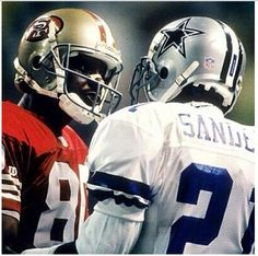 Dallas Cowboys vs San Francisco (The Rivalry! Football Is Life, Cowboys Football, Dallas Cowboys, Cowboys Vs, Funny Football, School Football, 49ers Players, Football Players, Fantasy Football Logos
