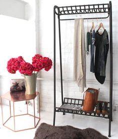 Cast Iron Clothes Rail - new home essentials