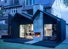 House extension designs House Extension Design, Extension Designs, Roof Extension, Journal Du Design, Charred Wood, London Architecture, British Architecture, Architecture Design, London House