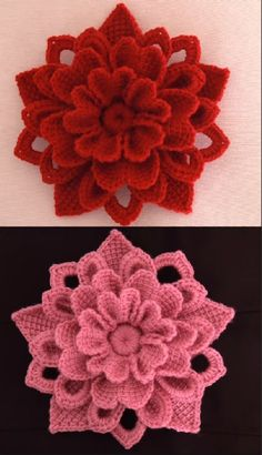 Heavenly FLOWER CROCHET PATTERN IDEAS FOR This Winter 2019 Part crochet flowers; crochet flowers for hats; crochet flowers easy Source by sunluvnblond Irish Crochet Flower - I'd like 20 in different colors and sizes for my apartment please kthxbai Irish Crochet Puff Flower, Crochet Flower Tutorial, Knitted Flowers, Crochet Flower Patterns, Crochet Designs, Knitting Patterns, Crochet Ideas, Knitting Ideas, Crochet Motifs