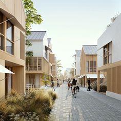 Social Housing Architecture, Cultural Architecture, Education Architecture, Classic Architecture, Architecture Visualization, Residential Architecture, Landscape Architecture, Architecture Design, Romanesque Architecture
