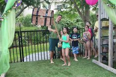 """Anneliese's """"Never Grow Up"""" 7th Birthday 