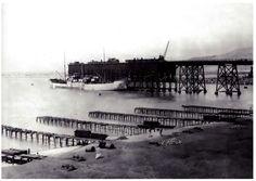 Embarcadero de Alquife (Cable Inglés), 1904. Almería. Fuente: Fondo Asafal