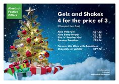 Look after yourself this winter. The brilliant aloe gel and handy shakes.  I love the Aloe excitement and the Christmas countdown.  Message me to order or for any more details.   www.aloesoph.com www.facebook.com/aloesoph
