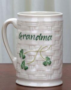 Having coffee with Grandma....priceless.