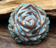 Hey, I found this really awesome Etsy listing at https://www.etsy.com/listing/263325495/handmade-ceramic-rose-shank-button