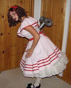 Cute Wind Up Doll Costume