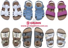 No matter your kid's unique footwear needs - whether your child has an existing foot condition such as children's heel pain or flat feet, or you simply want to try and reduce the damage normal shoes may cause your child Grubin have a healthy shoe for every child.  Select from the wide range of #Grubin's orthopaedic kids or children's shoes and enjoy peace of mind that your child's feet have the support they need.  #childrens_orthopedic_shoes #kids_orthopedic_shoes