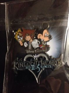 Kingdom Hearts 2.5 HD ReMIX Limited Edition Disney Pin with Sora and King Mickey in Video Gaming Merchandise | eBay