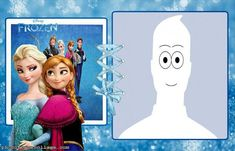 Elsa and Anna Frozen Picture Frame                     Picture Frame
