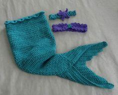 crochet baby mermaid outfit 0 3 monthcrochet mermaid halloween costumephoto prop - Baby Mermaid Halloween Costume