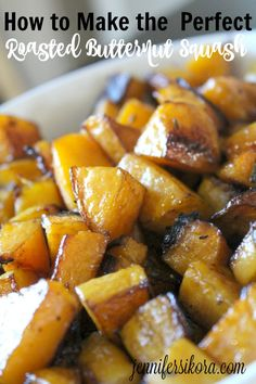 How to Make the Perfect Roasted Butternut Squash (plus a Kitchenaid Giveaway) -