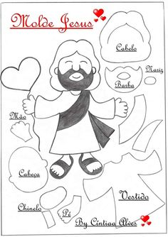 Bible Story Crafts, Bible Crafts For Kids, Bible Stories, Pig Crafts, Felt Crafts, Sewing Crafts, Sunday School Crafts For Kids, Felt Animal Patterns, Kids Class