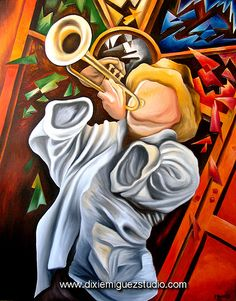 trompeta cuban art painting Miguez photo by Miguez Cuban Art Music Artwork, Art Music, Vintage Cuba, Latino Art, Cuban Art, Caribbean Art, Arte Pop, World Best Photos, African Art