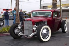 1932 Ford 5-window coupe - hotrod - chopped & channeled