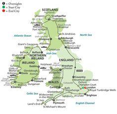 England ireland scotland wales tours
