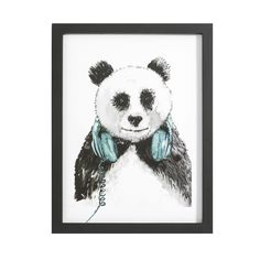 Panda Wall Art | Pillow Talk