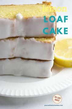 Our easy Starbucks Copycat lemon loaf cake recipe makes two loaves, so you have one to enjoy and one to share! Lemon Loaf Cake makes a wonderful homemade food gift! Lemon Desserts, Lemon Recipes, Easy Desserts, Baking Recipes, Dessert Recipes, Copycat Recipes, Top Recipes, Family Recipes, Cupcake Recipes