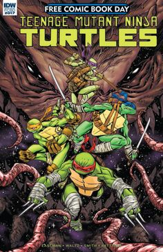 Teenage Mutant Ninja Turtles Free Comic Book Day 2017