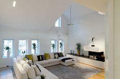 Scandinavian Design: Amazing Duplex Penthouse Renovation in Sweden | HomeDSGN