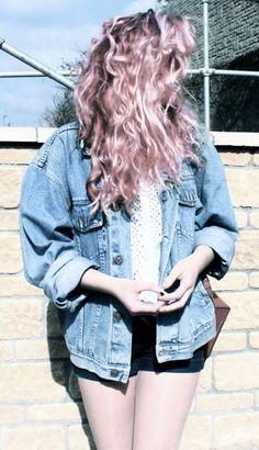 THAT HAIR THOUGH <3