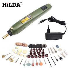 17.04$  Buy now - http://aliyeh.shopchina.info/go.php?t=32804283985 - HILDA FOR Dremel Mini Electric Drill + Grinding Accessories Set Multifunction Engraving Machine Electric Tool kits Power Tools  17.04$ #buyonline