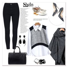 """""""SheIn IV/4"""" by amra-mak ❤ liked on Polyvore featuring moda, Paul Andrew, Louis Vuitton, NYX y shein"""