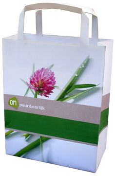 press release goodie bag for Albert Heijn (big chain of stores)