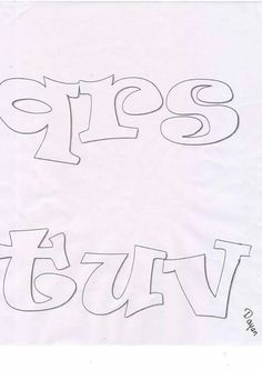 Letras 2 Graffiti Alphabet, Graffiti Lettering, Block Lettering, Typography, Buddha Drawing, Art Du Monde, Calligraphy Tutorial, Different Font Styles, Graffiti Designs