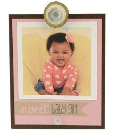 Sweet Baby Girl Insta Clip Frame | Personalized Frame, Instagram Frame…