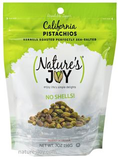 Nature's Joy 7 ounces of pure deliciousness, pistachio kernels. How long can I make a bag last?