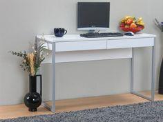 Tvilum Bureau met 2 laden 'Function' wit - hioshop.nl - online meubels - goedkope meubels