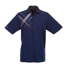 Greg Norman Collection Mens Screen Print Polo Navy XxLarge >>> Details can be found by clicking on the image.