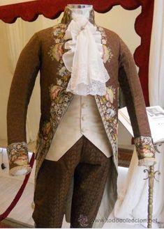 TRAJE CORTESANO SIGLO XVIII (Antigüedades - Moda - Hombre - Trajes Antiguos)