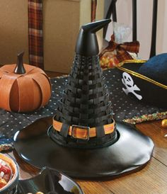 Witch's Hat Basket. Longaberger style.