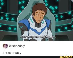 I believe this is a fan artwork of Lance's vlog, but if the actual vlog is like this I will be sobbing uncontrollably about my blue son who needs validation