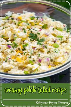 Every summer I turn to this creamy potato salad recipe for cookouts, weeknight dinners or picnics. It's got everything I want in a potato salad and it's always a crowd favorite! Easy Family Meals, Quick Meals, Family Recipes, Easy Healthy Recipes, Vegetarian Recipes, Tastemade Recipes, Prime Rib Recipe, Creamy Potato Salad, Popular Recipes