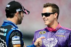 NASCAR Feud: Jimmie Johnson vs Trevor Bayne  http://www.boneheadpicks.com/nascar-feud-jimmie-johnson-vs-trevor-bayne/