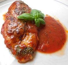 Italienisches Hähnchen mit Mozzarella
