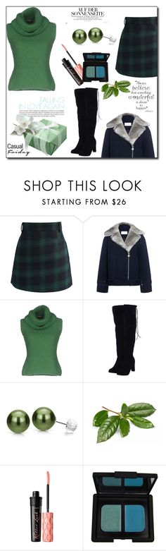 """Turtle Necks"" by superpaolamara ❤ liked on Polyvore featuring Chicwish, Carven, Ermanno Scervino, DaVonna, NARS Cosmetics, turtleneck and Belleza"