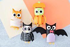 Diy Halloween Treats, Halloween Mantel, Halloween Owl, Halloween Crafts For Kids, Holidays Halloween, Halloween Decorations, Owl Skeleton, Cute Creatures, Sewing Projects For Beginners
