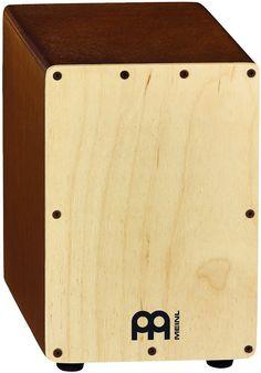 Meinl Mini Cajon Light Brown/Natural.SCAJ1LB-NT.Built-in snare wires | eBay