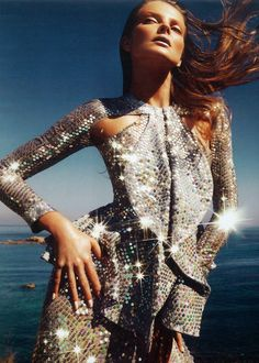 Eniko Mihalik by Nico for Harper's Bazaar Spain (June 2012)